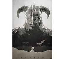 Dragonborn - Skyrim Photographic Print