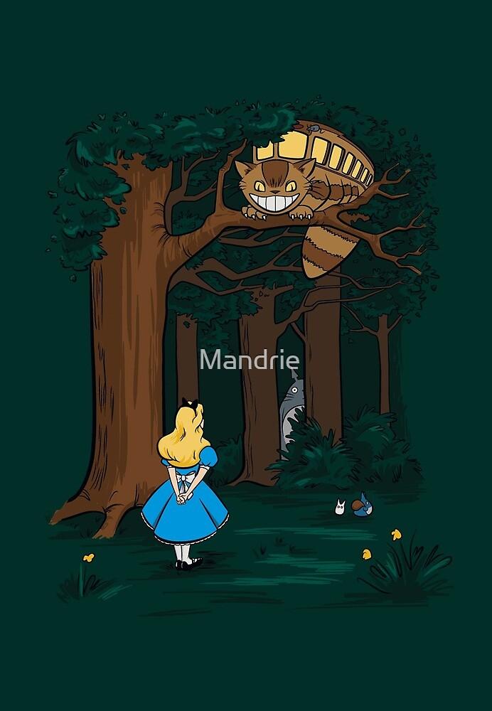My Neighbor in Wonderland (Dark Green) by Mandrie