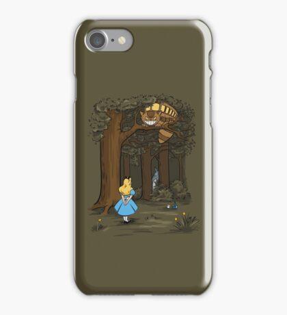 My Neighbor in Wonderland (Army) iPhone Case/Skin