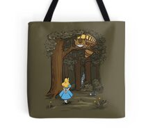 My Neighbor in Wonderland (Army) Tote Bag