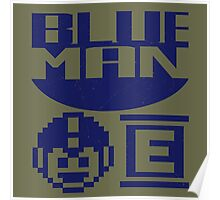 Blue Man Poster