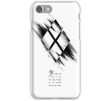 Batman Villains - Harley Quinn (Black Version) iPhone Case/Skin