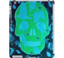 Rebirth in blue iPad Case/Skin