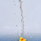 Shower time ducky by Simon Duckworth