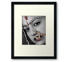 Bride Jewellery Framed Print