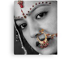 Bride Jewellery Canvas Print
