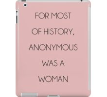 The Truth About our History - Pink iPad Case/Skin