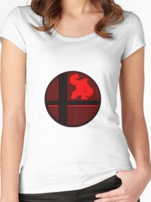 Smash Bros. Donkey Kong Women's Fitted Scoop T-Shirt