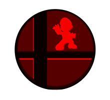 Smash Bros. Mario Photographic Print