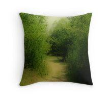 Absorbing Nature Throw Pillow