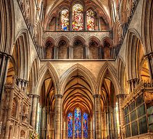 Inside Salisbury Cathedral by Mark Waugh