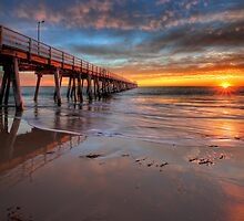 Grange Jetty Sunset - HDR by Dale Allman