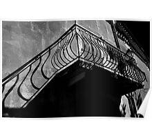 Rustiques Balcony Poster