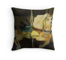Prancing Pony Throw Pillow