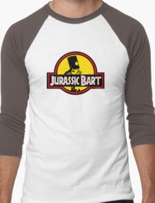 Jurassic Bart Men's Baseball ¾ T-Shirt