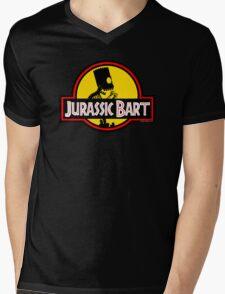Jurassic Bart Mens V-Neck T-Shirt