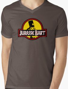 Jurassic Bart Mens V-Neck T-Shirt