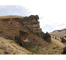 Geologic Jujitzu Photographic Print