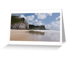 Oxwich Bay Greeting Card