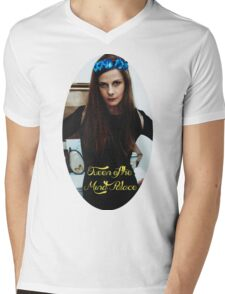 Queen of the Mind Palace Mens V-Neck T-Shirt