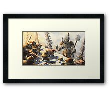 Snow Goblins Framed Print