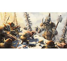 Snow Goblins Photographic Print