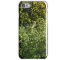Clouds of Cow Parsley iPhone Case/Skin