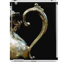 Silver Tea Pot Handle - Digital Oil Art Work iPad Case/Skin