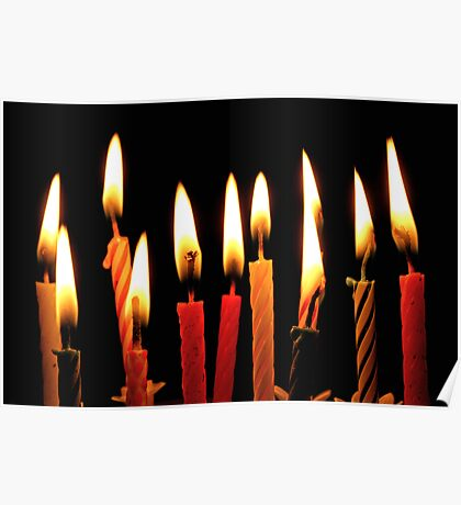Party Candles Poster