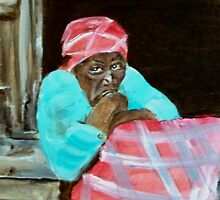 PLANTATION WOMAN by LJonesGalleries