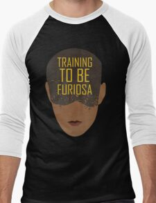 Training To Be Furiosa  Men's Baseball ¾ T-Shirt