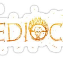 MEDIOCRE! Sticker