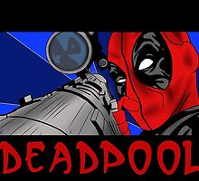 Take aim Deadpool by theNs