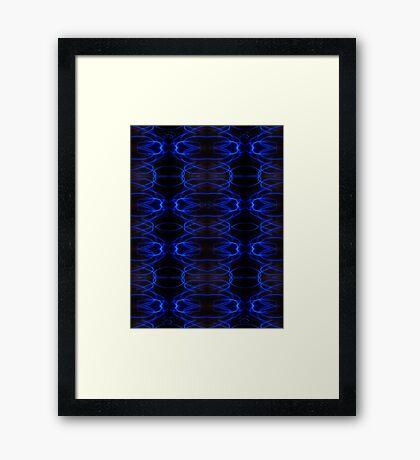 """©NLE Experiment """"X"""" V Framed Print"""
