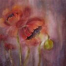 Watercolour Florals by Bev Morgan by bevmorgan