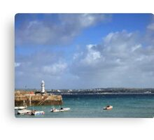 Impression Of St Ives Harbour Canvas Print