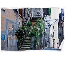 Anagni Italy Street Scene Poster