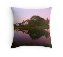 Kiltullagh Church Throw Pillow