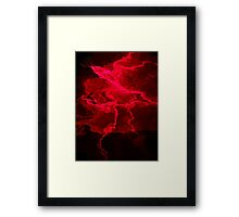 ©NLE Red Pulse Framed Print