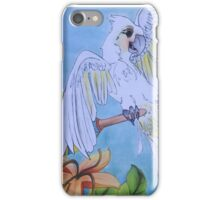Dancing Cockatoo  iPhone Case/Skin