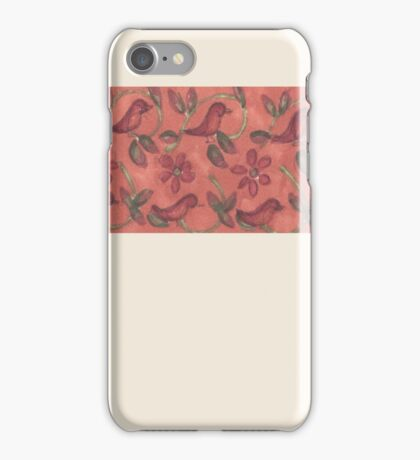 Bird Pattern Phone Case iPhone Case/Skin