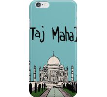 Taj Mahal iPhone Case/Skin