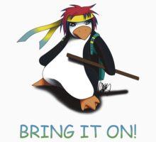 Juppo - Ninja Penguin by xaiphin