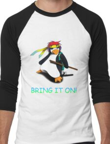 Juppo - Ninja Penguin Men's Baseball ¾ T-Shirt