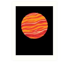 Bound for Planet Bacon… Art Print