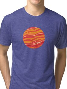 Bound for Planet Bacon… Tri-blend T-Shirt