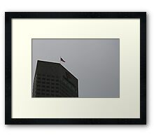 A Top Of One America Framed Print