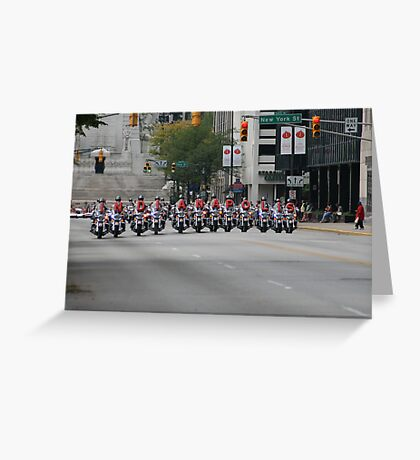 Spelling Motorcycles Greeting Card