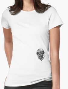 Meat Grinder  Womens Fitted T-Shirt