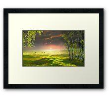 Idyll Place Framed Print